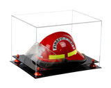 Acrylic Fireman's Helmet Display Case