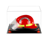 Fireman's Helmet <br> Clear Display Case <br> <sub> A Perfect gift for Dad! </sub>, Display Case, Better Display Cases, Better Display Cases - Better Display Cases