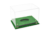 Deluxe Clear Acrylic Football Display Case with Risers and Turf Base (A004-CRTB), Display Case, Better Display Cases, Better Display Cases - Better Display Cases