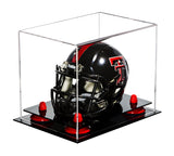 Clear Mini - Miniature Football Helmet Display Case