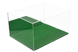 Cleat Display Case <br> With Turf Floor <br>(Clear or Mirror) <br> <sub> Pro, NCAA, and more!, Display Case, Better Display Cases, Better Display Cases - Better Display Cases