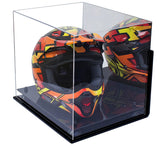 Motocross Helmet <br> Mirrored Display Case <br> with Wall Mount <br> <sub/> Nascar, Motorcycle, Racing!