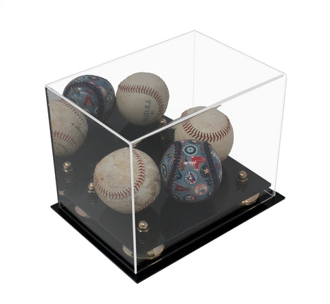 Small Versatile Display <br> Mirrored Rectangle Box <br><sub> 8.25 x 6 x 6.75 (A003) </sub>, Display Case, Better Display Cases, Better Display Cases - Better Display Cases