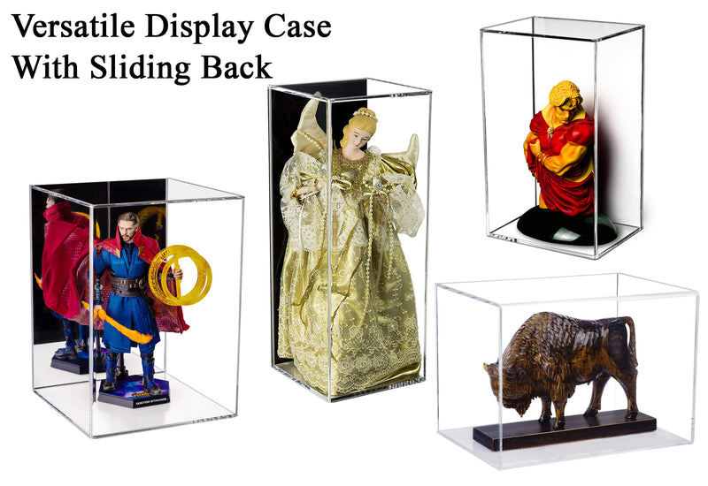 Versatile Acrylic Display Case with Size Options (Table Top or Wall Mount)