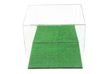 "Versatile Deluxe Acrylic Display Case - Large Rectangle Box with Turf Bottom 16"" x 13"" x 14"" (A024-TB), Display Case, Better Display Cases, Better Display Cases - Better Display Cases"