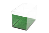 MINI - Miniature (not full size) Football Display Case with Turf Bottom, Display Case, Better Display Cases, Better Display Cases - Better Display Cases