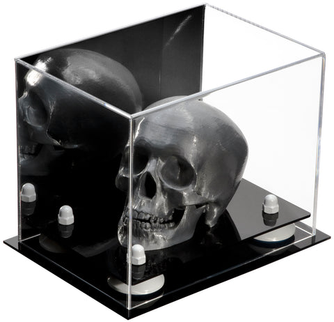 "Small Versatile Display <br> Mirrored Rectangle Box <br><sub> 8.25"" x 5.5"" x 6"" (A003) </sub>, Display Case, Better Display Cases, Better Display Cases - Better Display Cases"