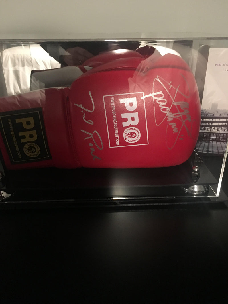 Boxing Glove <br> Display Case<br> <sub> Fits One or Two Gloves </sub>, Display Case, Better Display Cases, Better Display Cases - Better Display Cases