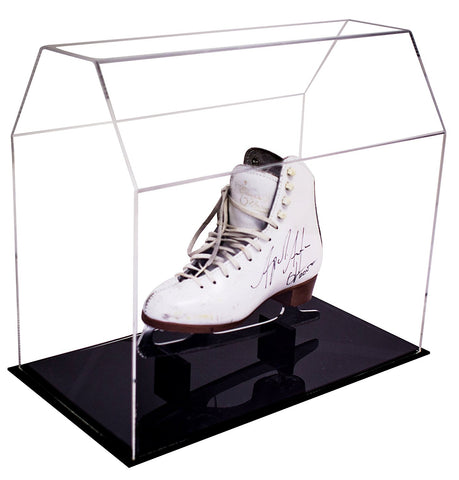 Clear Acrylic <br> Ice Skate / Hockey Skate <br> Display Case <br> <sub> Fits All Sizes </sub>, Display Case, Better Display Cases, Better Display Cases - Better Display Cases