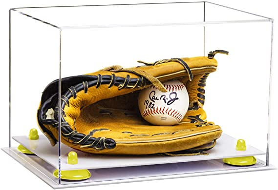 Acrylic Baseball Glove Display Case Clear