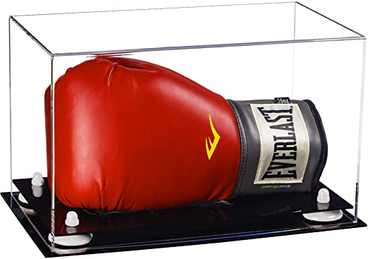 Acrylic Full Size Boxing Glove Display Case Horizontal - Clear (A011/V16)