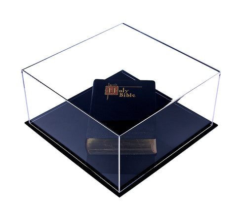 Book Display Case <br>(open or closed)<br><sub> with UV Protection </sub>