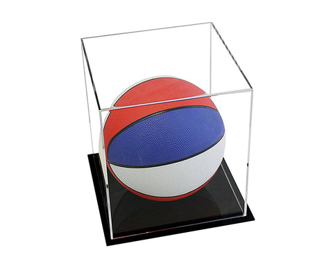 "Acrylic Deluxe Display Case with<br><sub> Clear or Mirror Small Rectangle Box <br>7.75"" x 7.75"" x 8.5"" (A015-DS)"