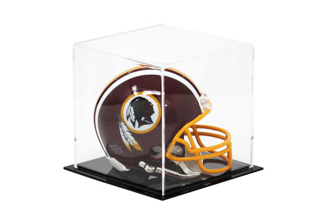 "Versatile Acrylic Display Case, Cube, Dust Cover and Riser <br><sub>(Clear or Mirrored)<br>6"" x 6"" x 6"" (A058-DS), Display Case, Better Display Cases, Better Display Cases - Better Display Cases"