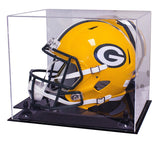 Football Helmet Case <br> Full Size With Mirror<br> <sub> NFL, NCAA, and more! </sub>