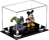 Acrylic Versatile Display Case  9.5 X 6 X 6.5 Clear