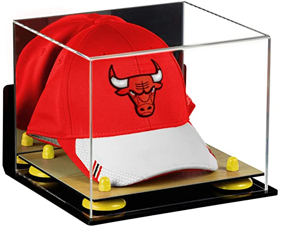 Better Display Cases Acrylic Basketball Hat or Cap Display Case