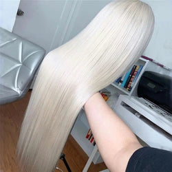 Brazillian platinum Blonde Lace