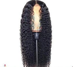 Curly Human Hair Wig 13x6