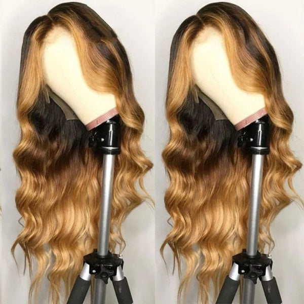Honey Blonde Full Lace Human Hair Wigs