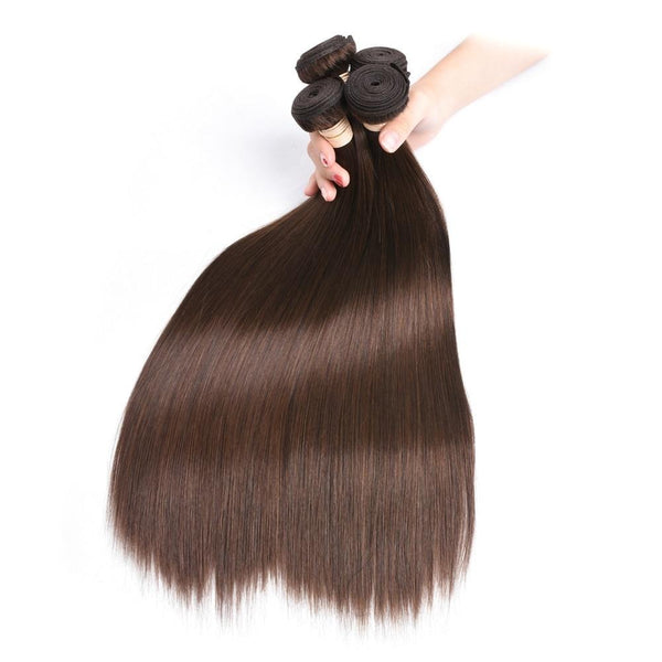 Pre-Colored Straight Indian Hair Bundles