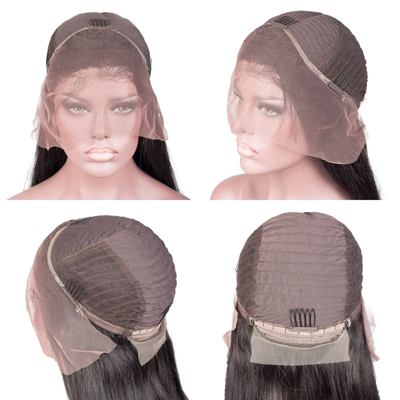 360 lace frontal human hair