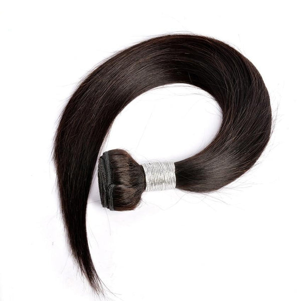Indian Human Hair Extensions Natural Color