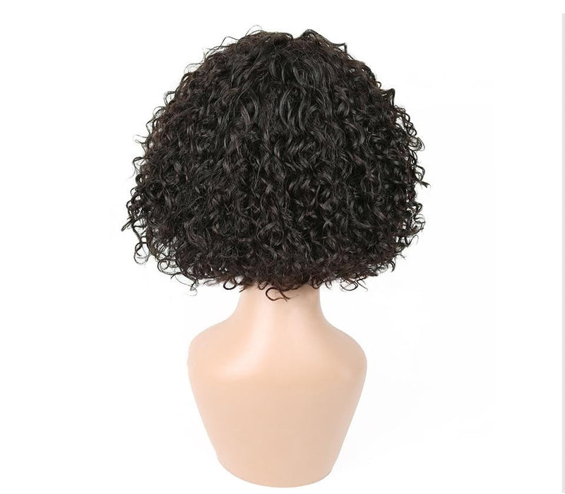 Ccollege Curly Wave Short Wigs