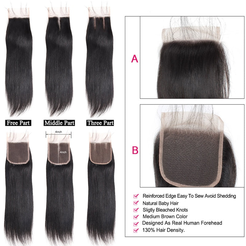 Indian Bundles With Closure Straight Bundles