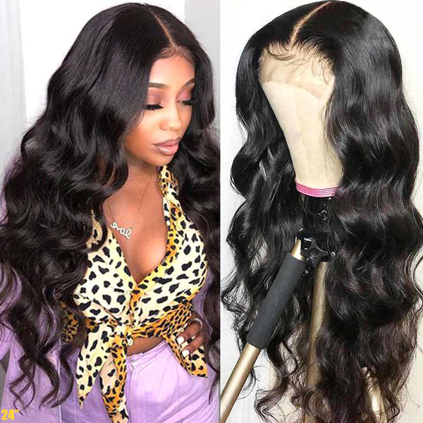 Transparent Frontal Wig 5x5
