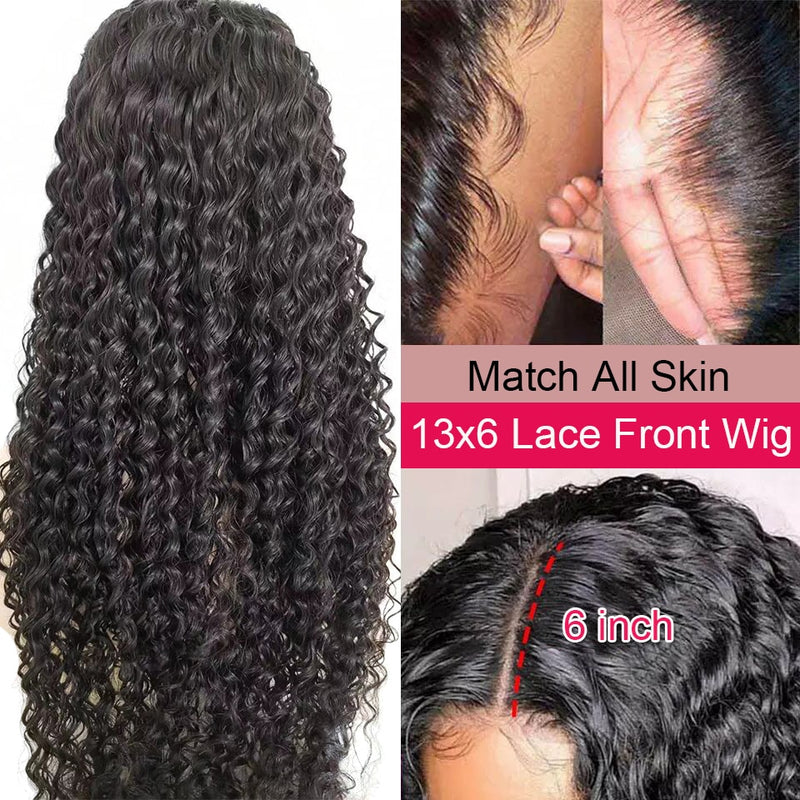 Satai 13x6 Lace Front Wig Curly