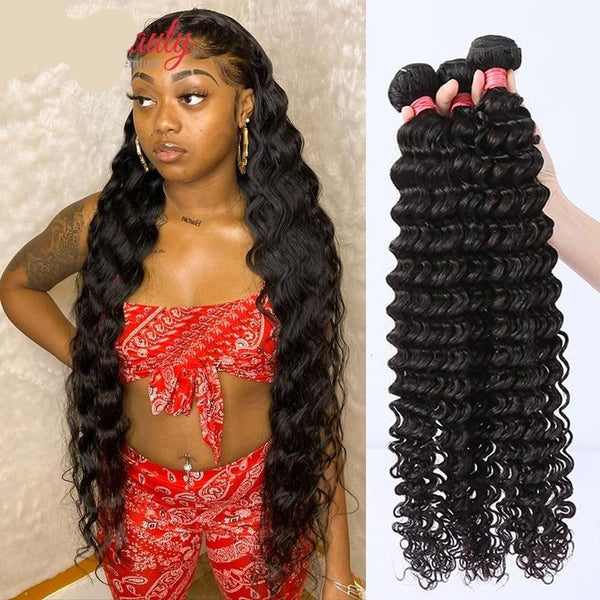 Indian Loose Water Wave Curly Hair Bundles