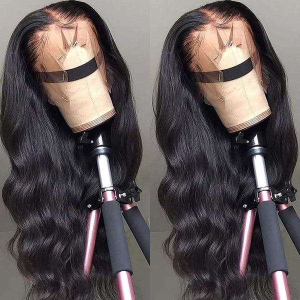 HD Transparent Lace Frontal Wigs 180