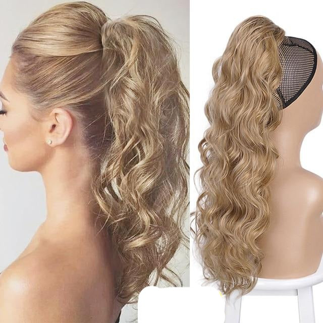 Vigorous Drawstring Ponytail