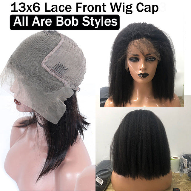 Kinky Straight Wig Full Lace