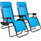Two Adjustable Zero Gravity Lounge Chairs - Roomhype