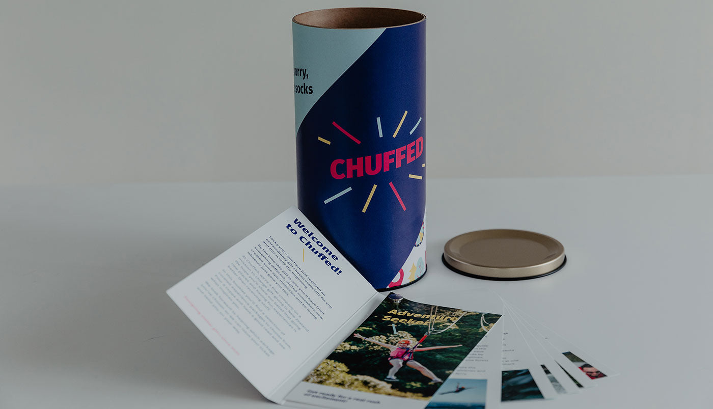 Chuffed NZ gift tubes kick start the gift excitement