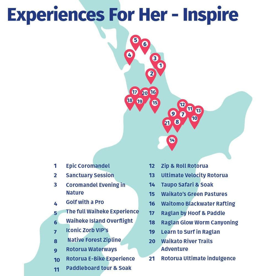 Experiences For Her - Inspire