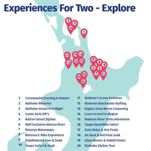 Experiences For Two - Explore