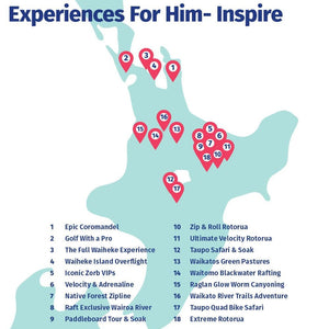 Experiences for Him - Inspire
