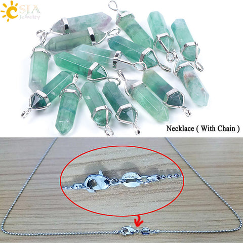 Image of Crystal Pendants Suspension Reiki Chakra