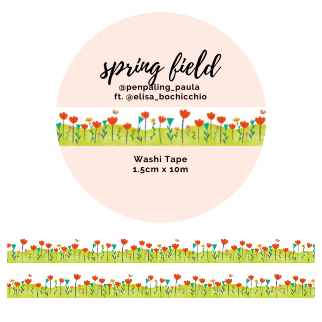 OOPSIE - Spring Field - Washi Tape