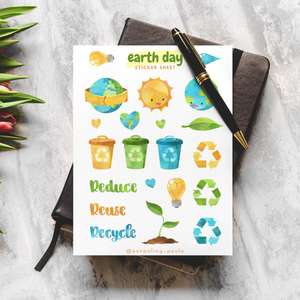 Earth Day - Sticker Sheet