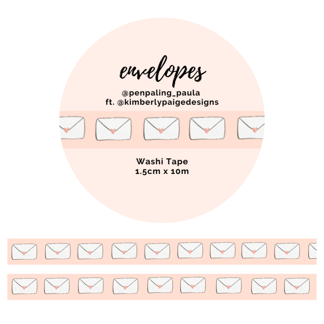 Envelopes - Washi Tape