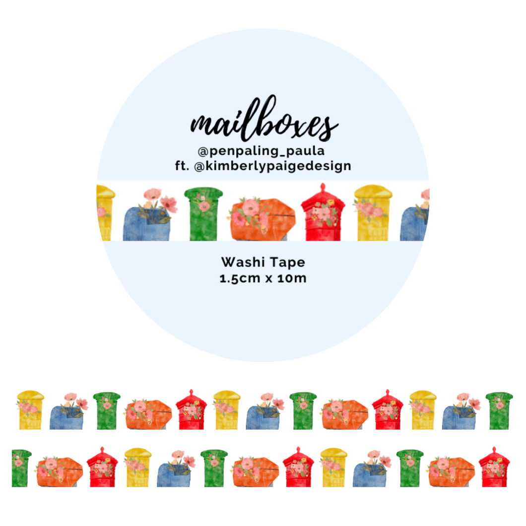 Mailboxes - Washi Tapes