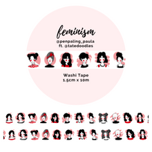 Load image into Gallery viewer, OOPSIE - Feminism - Washi Tape