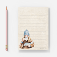 Load image into Gallery viewer, Books & Coziness - Letter Pad