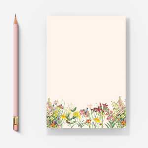 Wild Flowers - Letter Pad