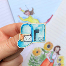Load image into Gallery viewer, Mailbox - Wooden Pin