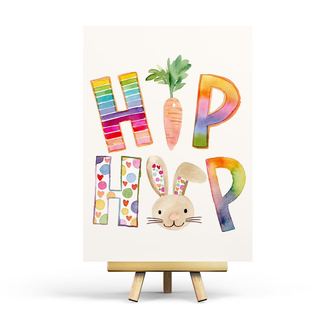 Hip Hop Easter - Postcard